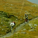 Cycling in Glen Affric